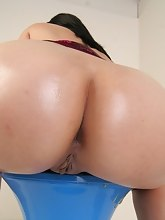 Pics of the amazing big asses. These concupiscent hotties love to show their hot asses in front of camera