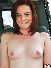 Dilettante Redhead White Beauty Gives Up Her Arse for Money