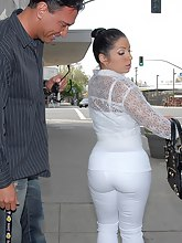 Latin obese bubble ass of Monica