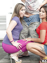 Jynx Maze and Briella Bounce. These two broads have big asses for days.