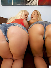 Sweet butts photo, Big Ass Blondes With Blue Eyes Feat. Angel Vain, Nicole Aniston