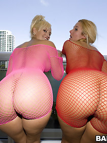 We got two juicy asses with these chick's named Valerie and Skyla Paris.