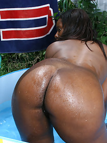 Sexy black girls with fat butt