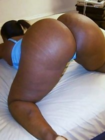 Sexy huge arse african cuties are exciting and erotic