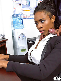 Ivy Young learns how to acquire ahead in the office