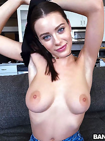 Lana Rhoades Works Hard for the Cum